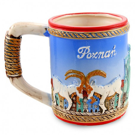 Glazuruotas puodelis Poznań