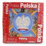 Plaque en céramique grande Pologne - ville
