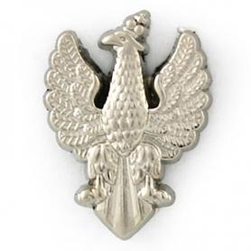 Przypinka, pin orzeł z XVIII wieku