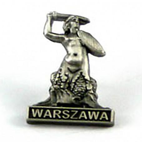 Przypinka, pin Warszawska Syrenka