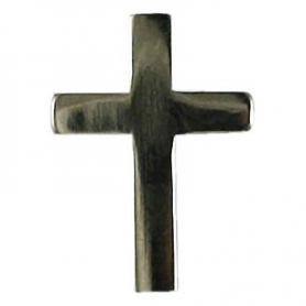 The Cross (nickel plated) - pin