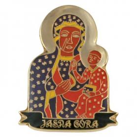 Épingle, broche Notre-Dame de Czestochowa