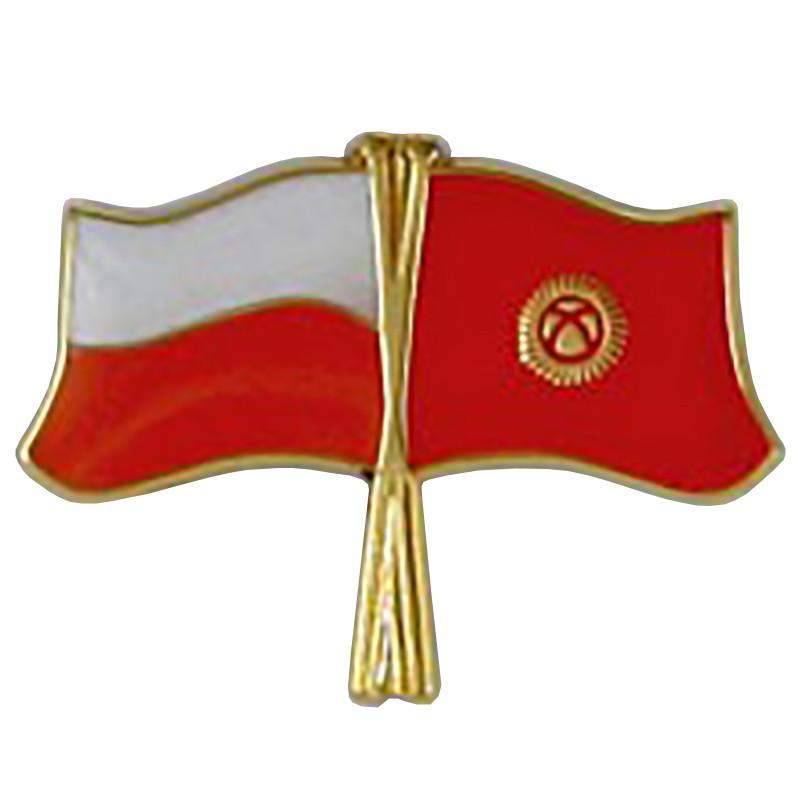 Pin, veliavele Lenkija-Kirgizija