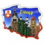 El contorno magnético de Polonia Elbląg