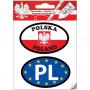 Set d'autocollants de voiture - PL - EU