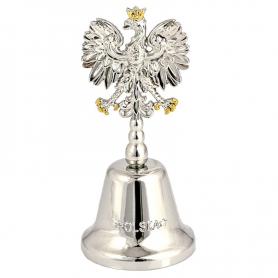 Metal bell Poland - eagle