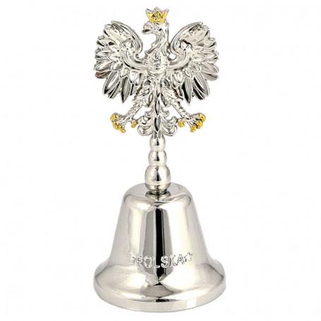Cloche en métal Pologne, Orzeł