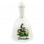 Dzwonek ceramiczny duży - Bociany