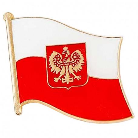 Magnes flaga Polski duża