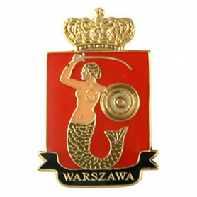 Pin, blason de Varsovie