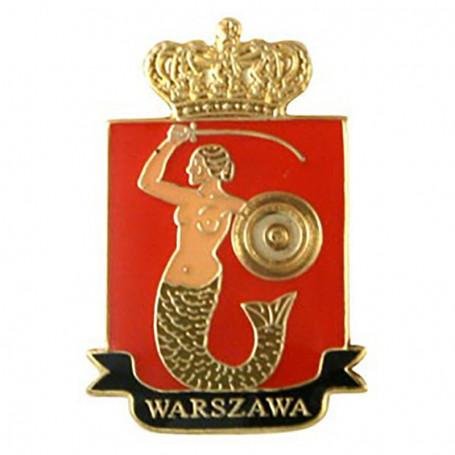 Przypinka, pin herb Warszawa