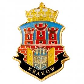 Przypinka, pin herb Kraków