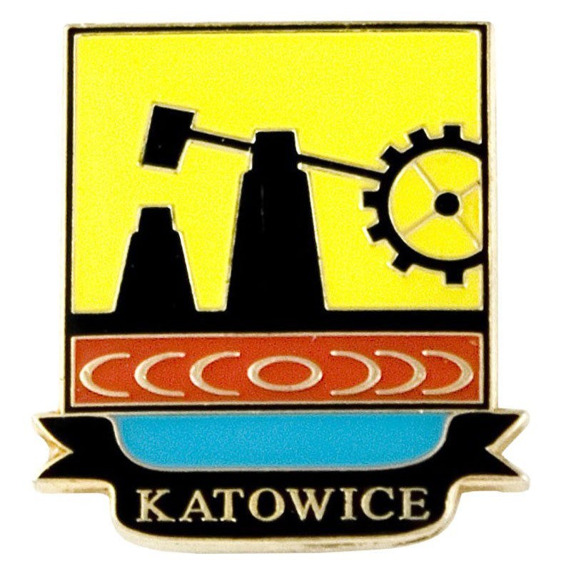 Pin, blason de Katowice