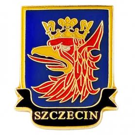 Alfinete, alfinete, brasão de Szczecin