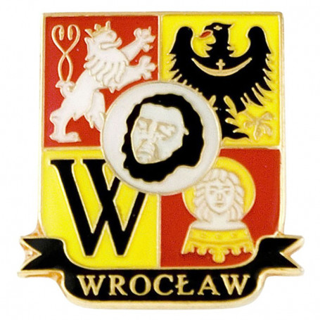 Pin, épingle blason Wroclaw