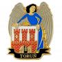 Przypinka, pin herb Toruń