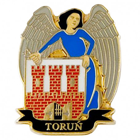 Pin, capa de alfiler de Toruń