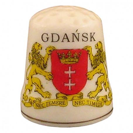 Naparstek ceramiczny - Gdańsk