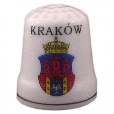 Dedal de cerámica - Cracovia