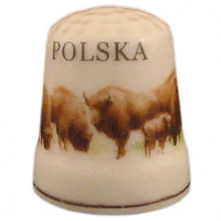 Keramines žiedas - Lenkija, bizonis