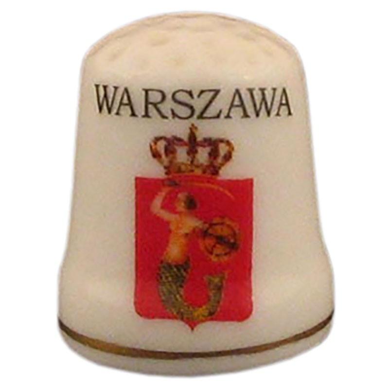 Dedal de cerámica - Varsovia