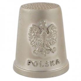 Metall Fingerhut - Polen, Adler