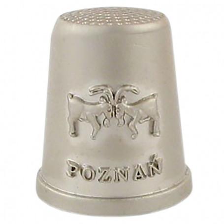 Dedal de metal - Poznan