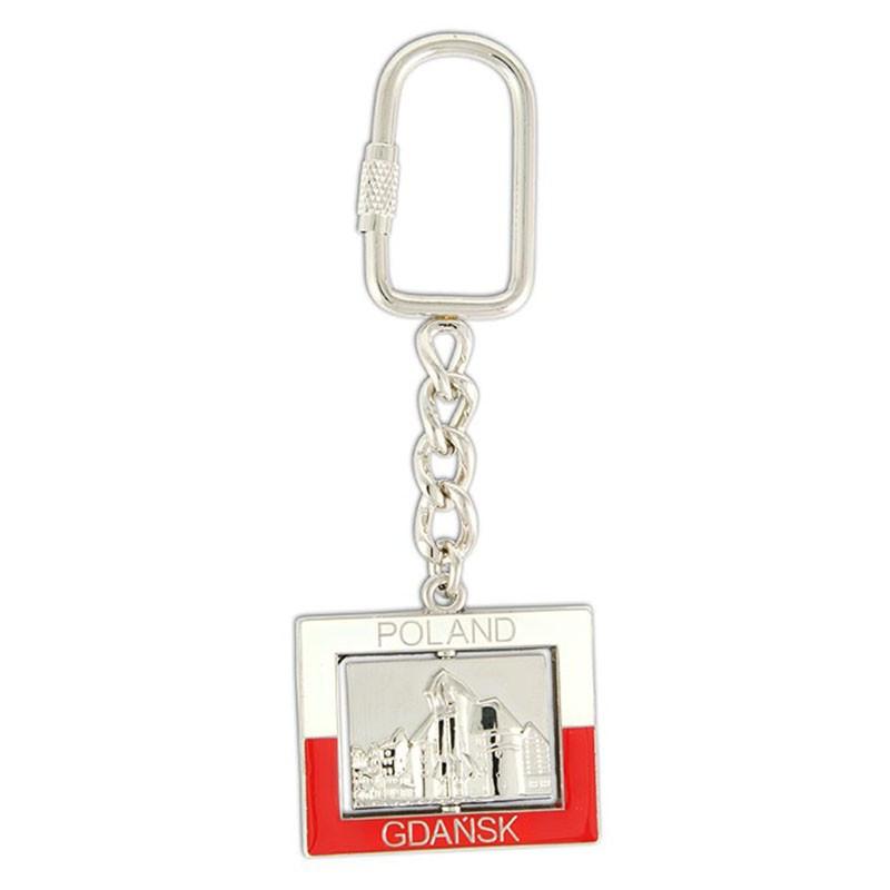 Porte-clés en métal, Gdansk, grue