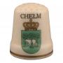 Dé en céramique - Chełm