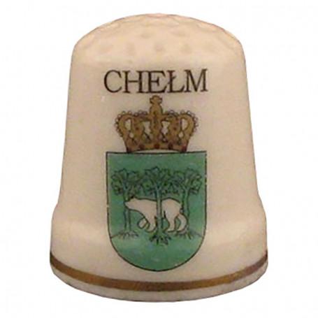 Dedal de cerámica - Chełm