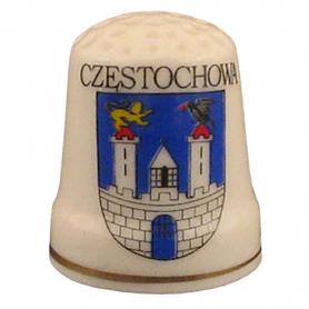 Ceramic thimble - Czestochowa