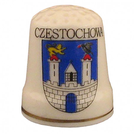 Dedal de cerámica - Częstochowa