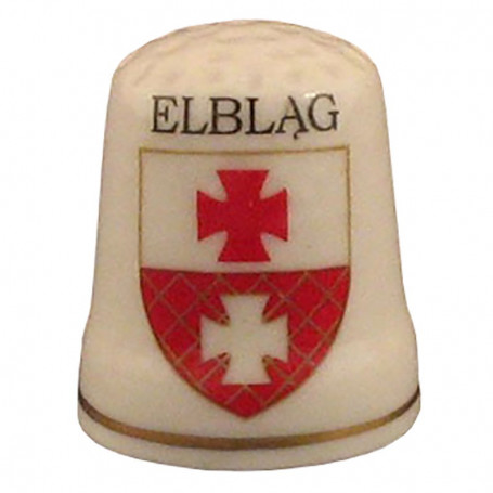 Dedal de cerámica - Elbląg