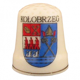 Ceramic thimble - Kolobrzeg