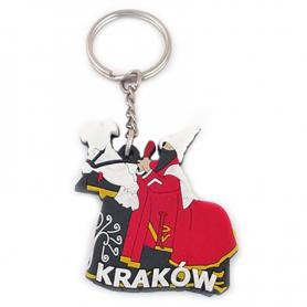 Porte-clés en caoutchouc - Lajkonik