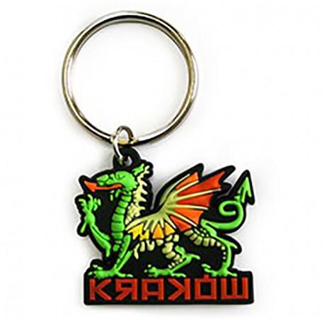 Porte-clés en caoutchouc - Dragon