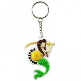 Porte-clés en caoutchouc - Mermaid
