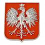 Imán emblema de plata polaco