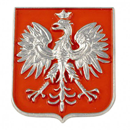 Magnetas Lenkijos sidabro emblema