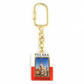 Brelok prostokątny Poznań