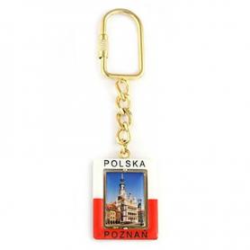 Rectangular Keychain Poznan