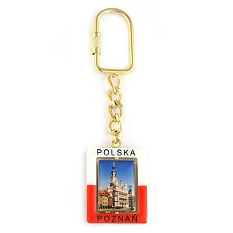 Porte-clés rectangulaire Poznań