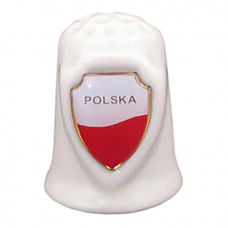 Naparstek ceramiczny z tarczą