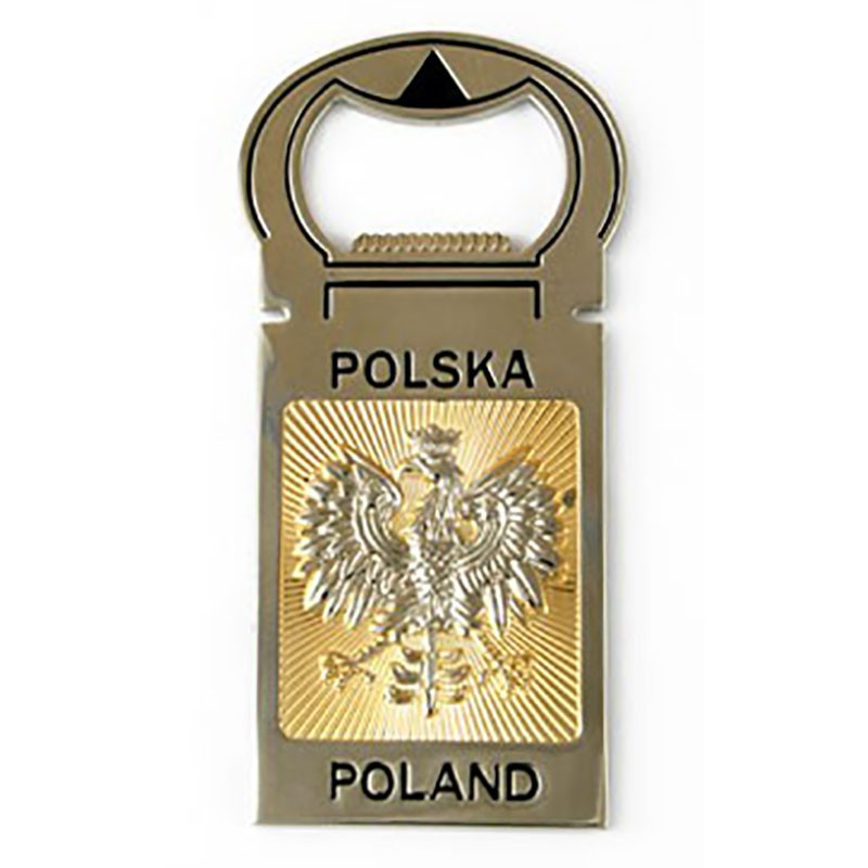 Abrebotellas Polonia - imán