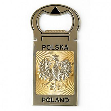 Décapsuleur Pologne - aimant