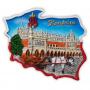Aimant contour Hall des draps de Cracovie