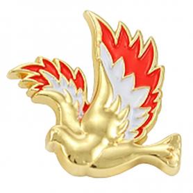 Shining dove - pin
