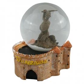 Snow globe 45 mm - Barbakan Warsaw