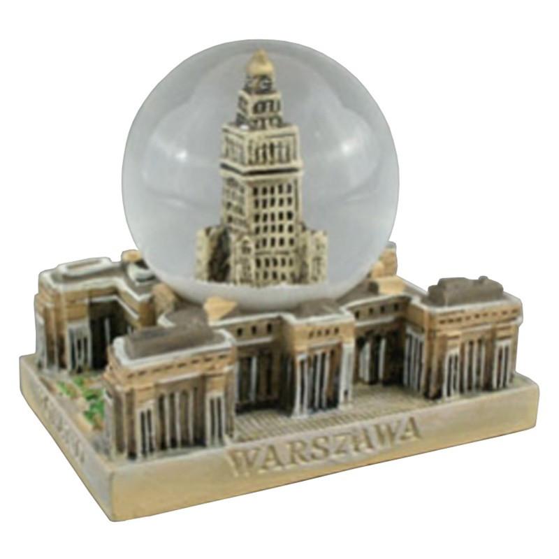 Boule de neige 45 mm - Palais de la Culture de Varsovie