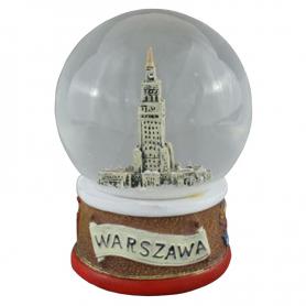 Boule de neige 80 mm - Palais de la Culture de Varsovie